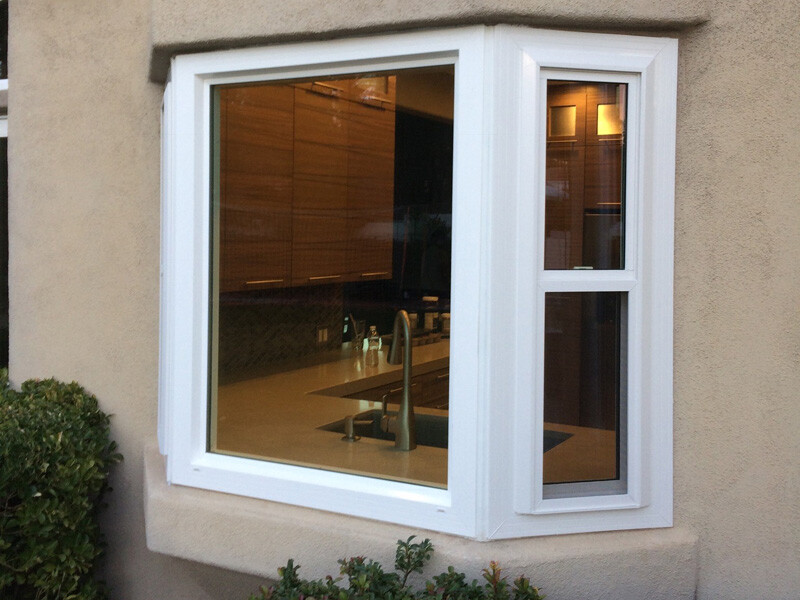 Bay and bow windows universal windows las vegas for Bow window replacement