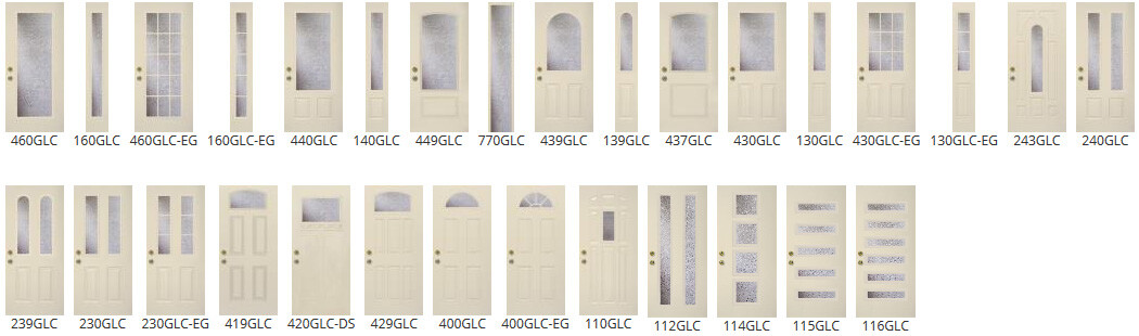 Privacy - Entry Door and Sidelite Styles